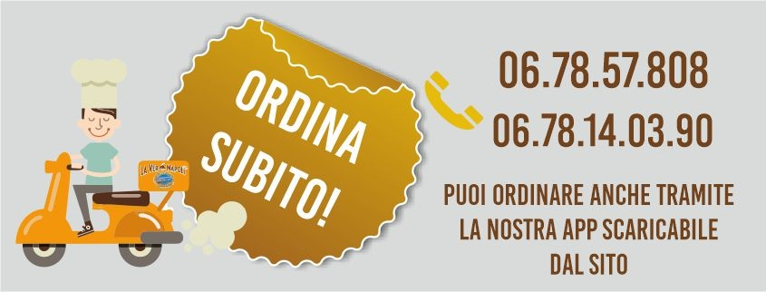 ordina pizza online a roma